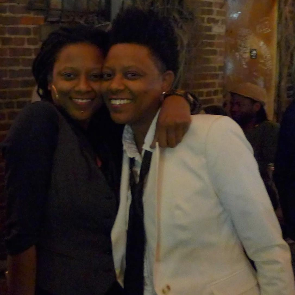 Shorlette (lft) & Shirlette Ammons, SugarQube Records