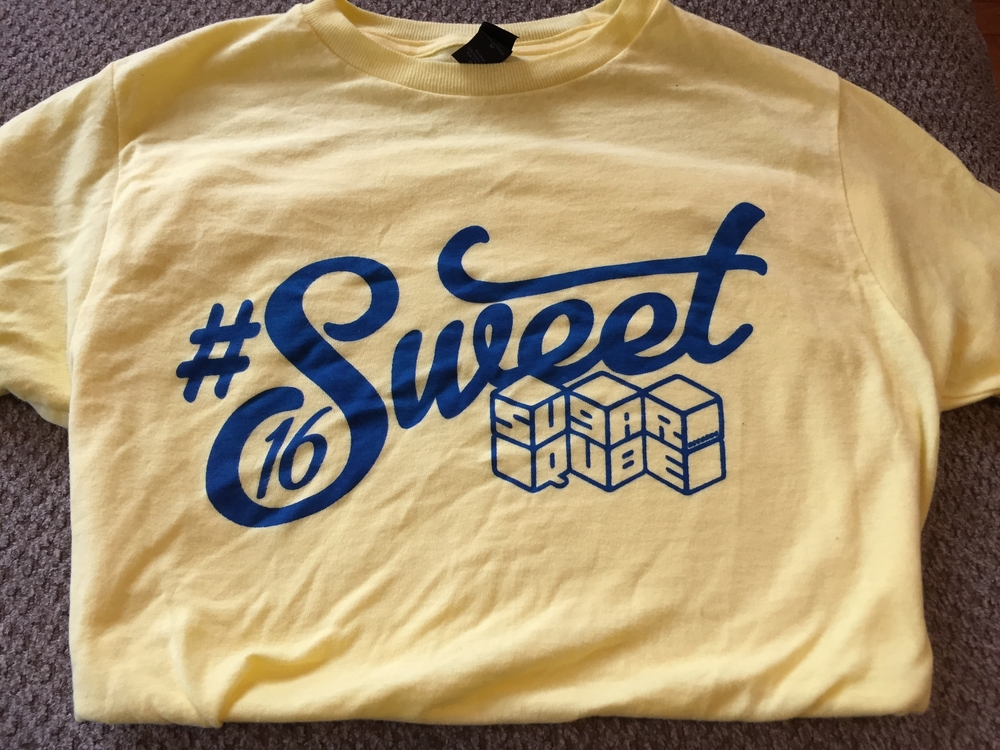 #Sweet16 Tshirt Design by Margaret McNealy