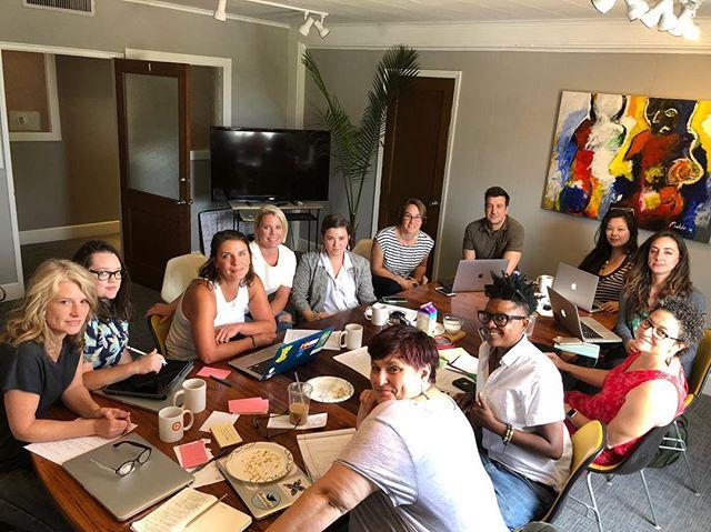 The squad #steadycookin #achefslife ❤️❤️❤️ @achefslife