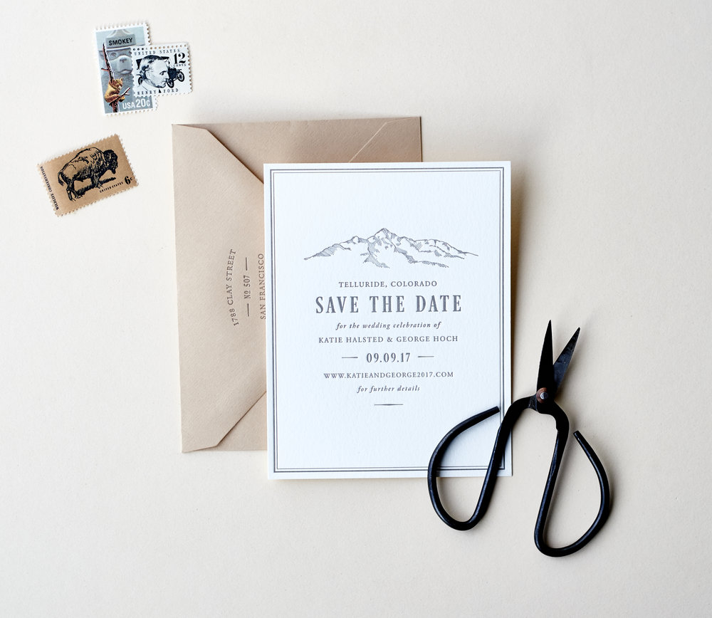 LetterpressMountainSaveTheDate