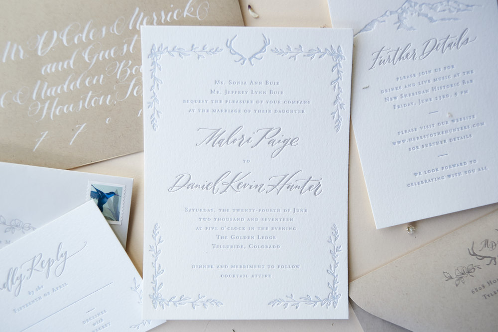 LetterpressMountainWeddingInvitation
