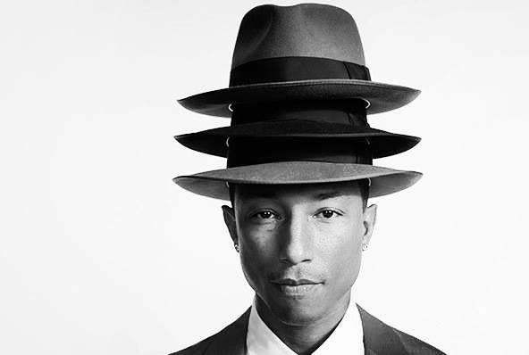Pharrell Williams. The man's got hats.