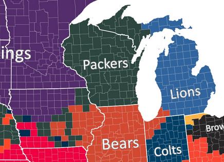NFL Fandoms (NFC North)