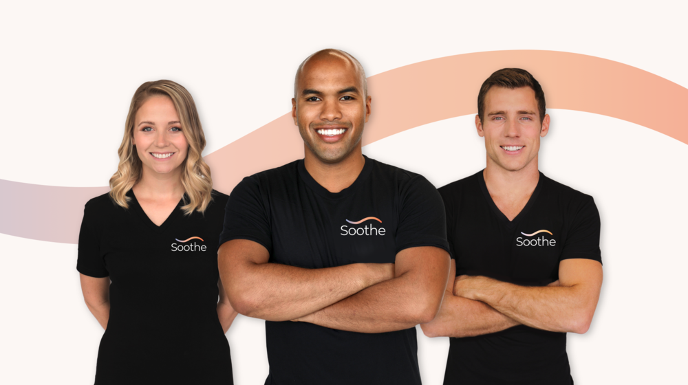 Soothe Massage Therapist T-shirt Design and photostyle