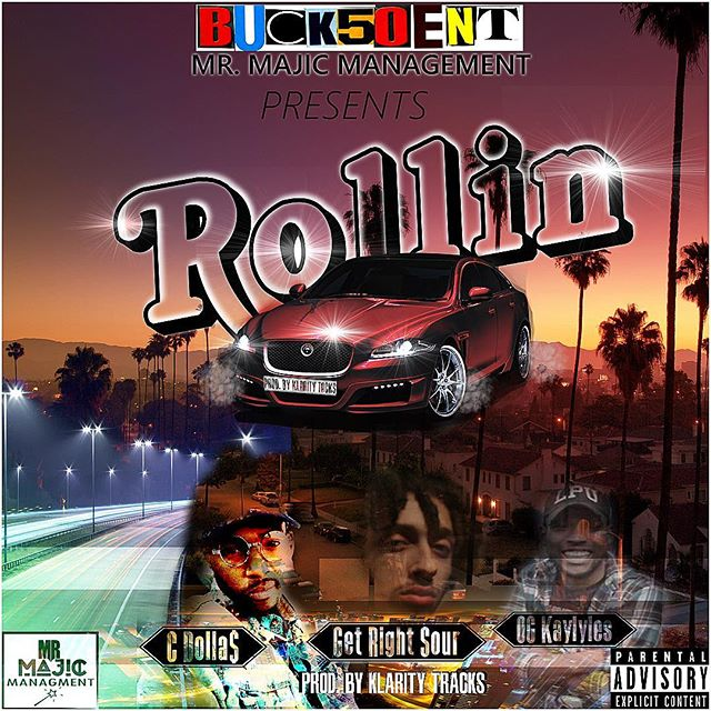 #ROLLIN  #linkinbio  #newmusic  #newsingle  #worldwide  #buck50entdotcom  #buck50ent  #Nj  #spotify  #itunes  #philly  #hiphop  #djs  #Hmu  #wordup  #knodat  #bsafe ☝🏽️✋🏽👌🏽 #️⃣1️⃣5️⃣0️⃣