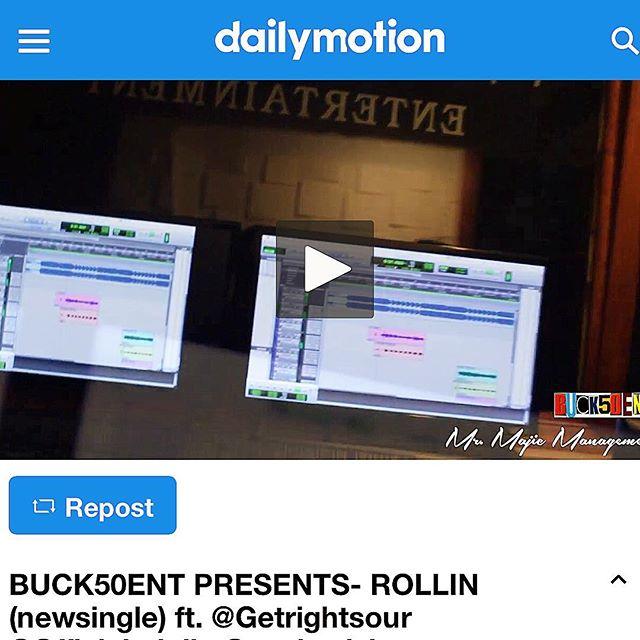 #ROLLIN  #dailymotion  #promo  #promotion  #newlink  #blogger  #blog  #hiphop  #Dj  #vlog  #cmdnj  #Nj  #buck50entdotcom  #buck50ent #worldstar  #YouTube  #nodaysoff  #newmusic #linkinbio  #spotify  #itunes  #google  #knodat  #wordup  #bsafe  #️⃣1️⃣5️⃣0️⃣ ☝🏽️✋🏽👌🏽