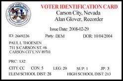 "The Secret Service sold this ""voter identification card"" as a second form of ID, for when a driver's license alone just won't do it"