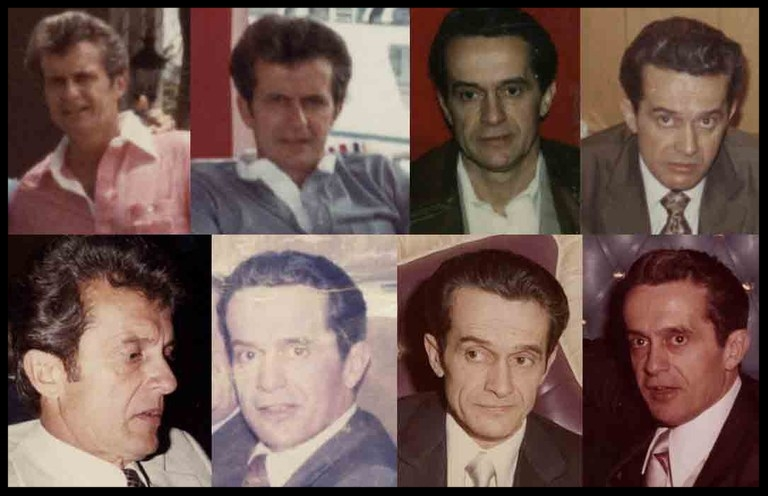 Shown are some of the newly released images of Donald Eugene Webb, taken in the late 1970s.