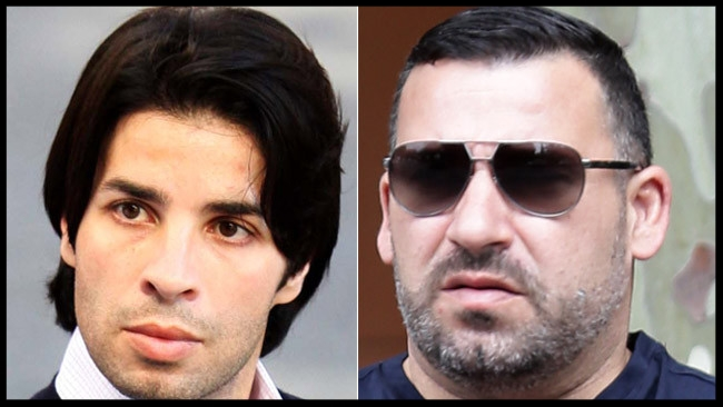 Fadi, left, and Michael, right, the two brothers of Kings Cross nightclub figure John Ibrahim were arrested in Dubai following an investigation into an alleged international drug syndicate.  Picture: Supplied