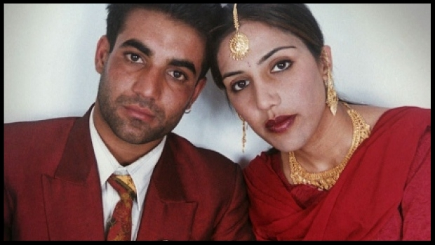 Jassi Sidhu, right, was killed after she secretly married Mithu Sidhu in India in 2000 . (Family photo)