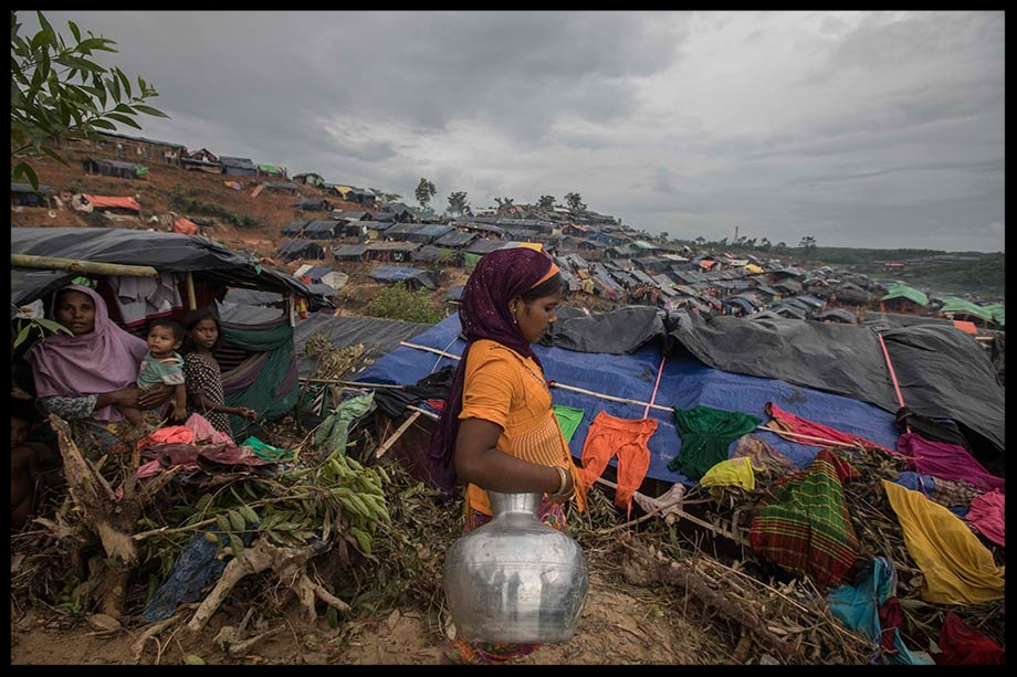 The Rohingya refugee camp in Cox's Bazar, Bangladesh on 19 September 2017.  Can Erok/Depo Photos/ABACA/ABACA/PA Images