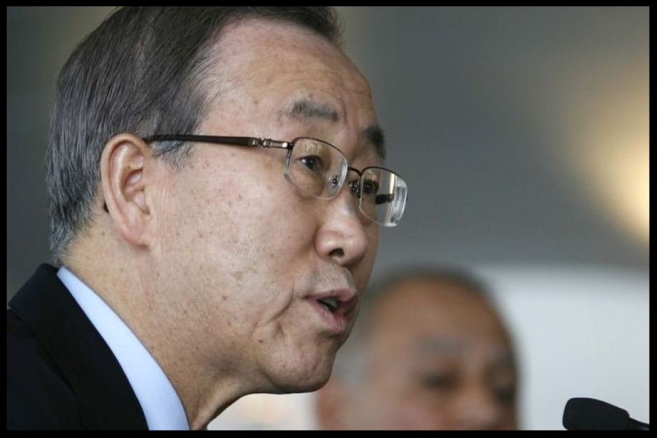 Ban Ki-moon's (pictured) brother has been charged in the US.