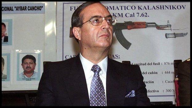 Ex. Peruvian intelligence chief, Vladimiro Montesinos