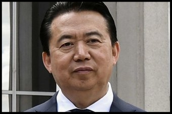 Interpol said Mr Meng has now resigned as president, effective immediately.