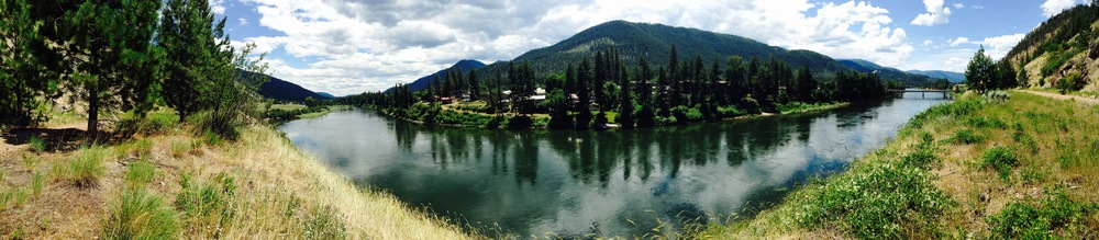 Photo contributed by Dylan Rogness Clark Fork River near Superior, MT