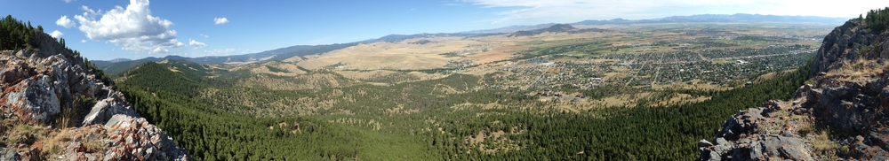 Photo contributed by Dylan Rogness View from Mount Helena State Park, Helena, MT