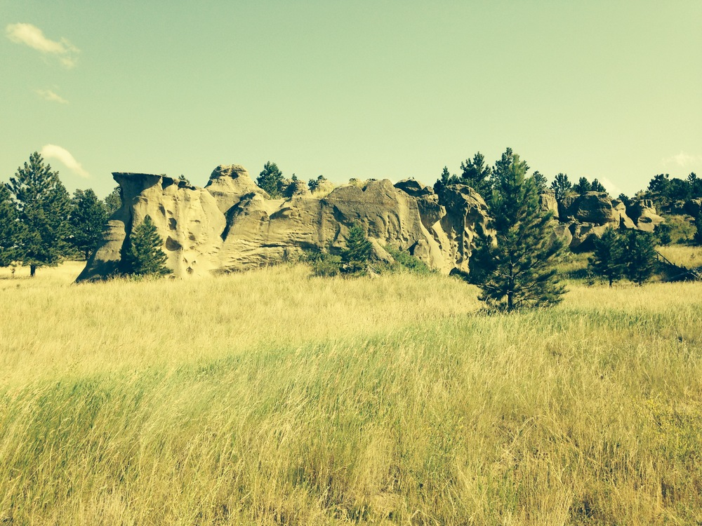 Photo contributed by Carol Bischoff Medicine Rock State Park near Ekalaka, MT