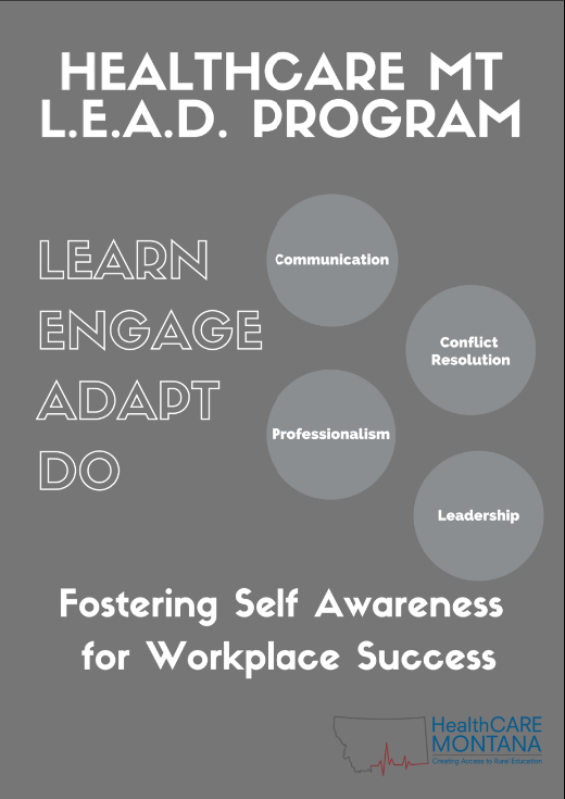Image of LEAD Program poster
