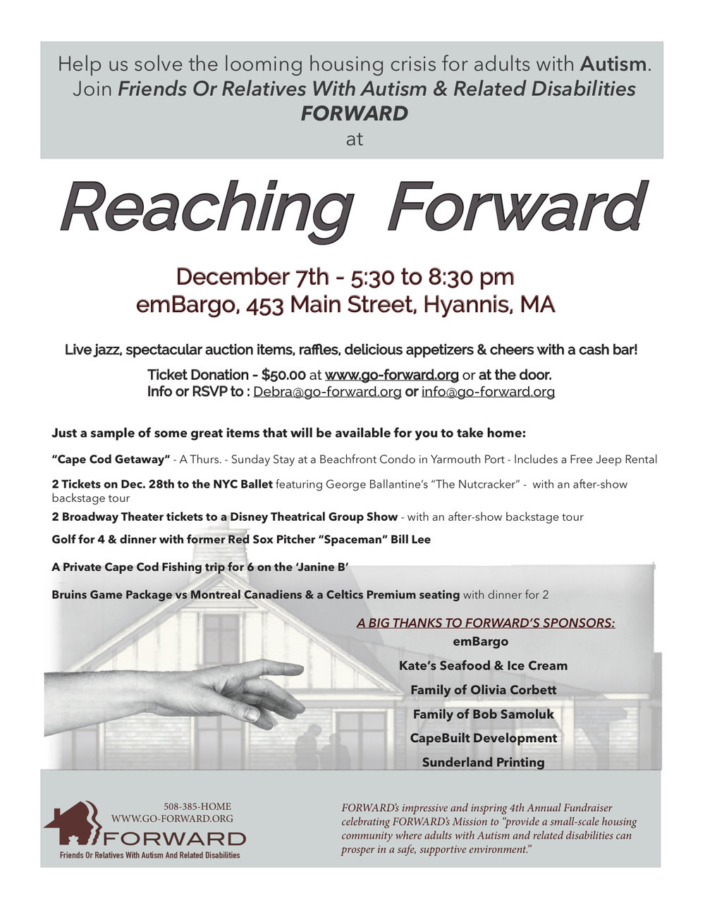 REACHING FORWARD Flyer JPG