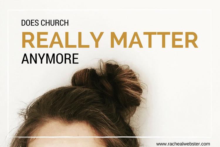 does_church_matter