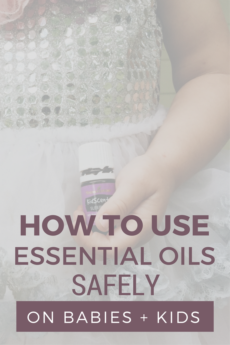 essential oils kids safely