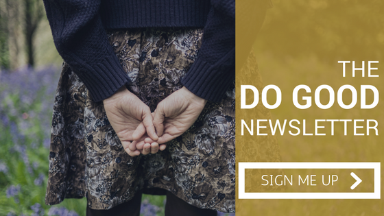 The Do Good Newsletter is full of ideas for pursuing the things you're passionate about and making a difference right where you are.