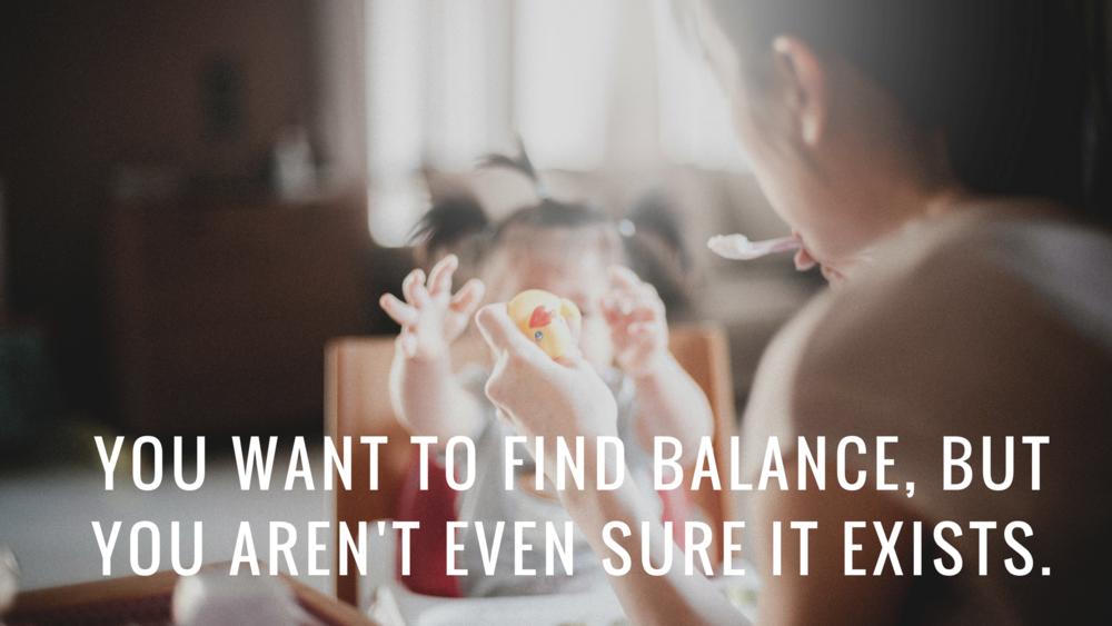 balance-motherhood
