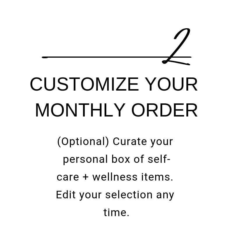 Self care essential oils subscription box