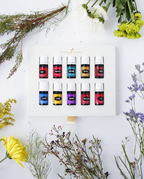 Young Living essential oils starter kit for preferred customers.