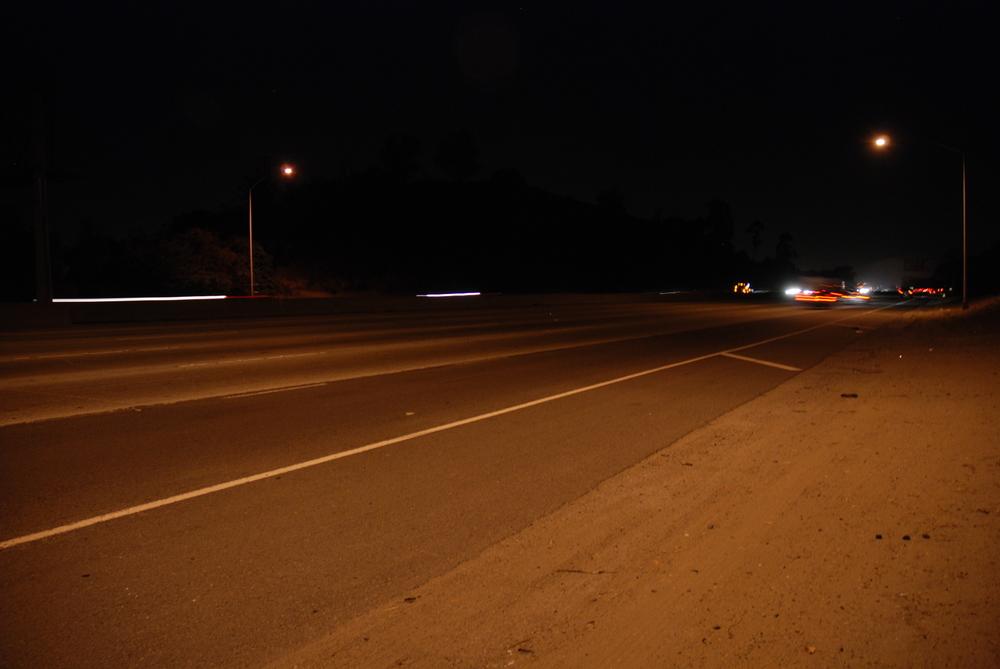 nighttime site