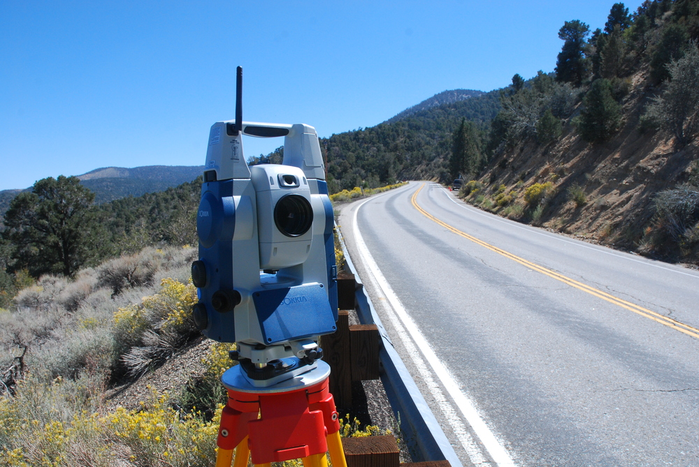 total station site