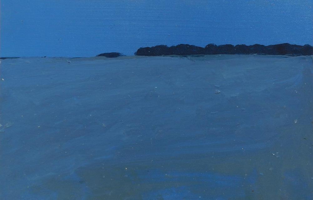 Landscape II,  oil on board,  325 x 215 mm, 2014