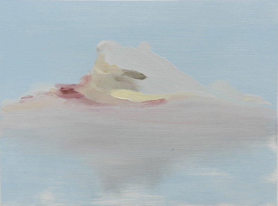 Iceberg, oil on board, 265 x 195 mm, 2014
