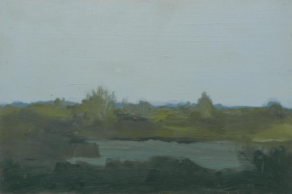 Landscape I , oil on board, 325 x 215 mm, 2014