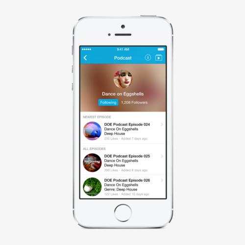 Podomatic for iOS — Matt Cole