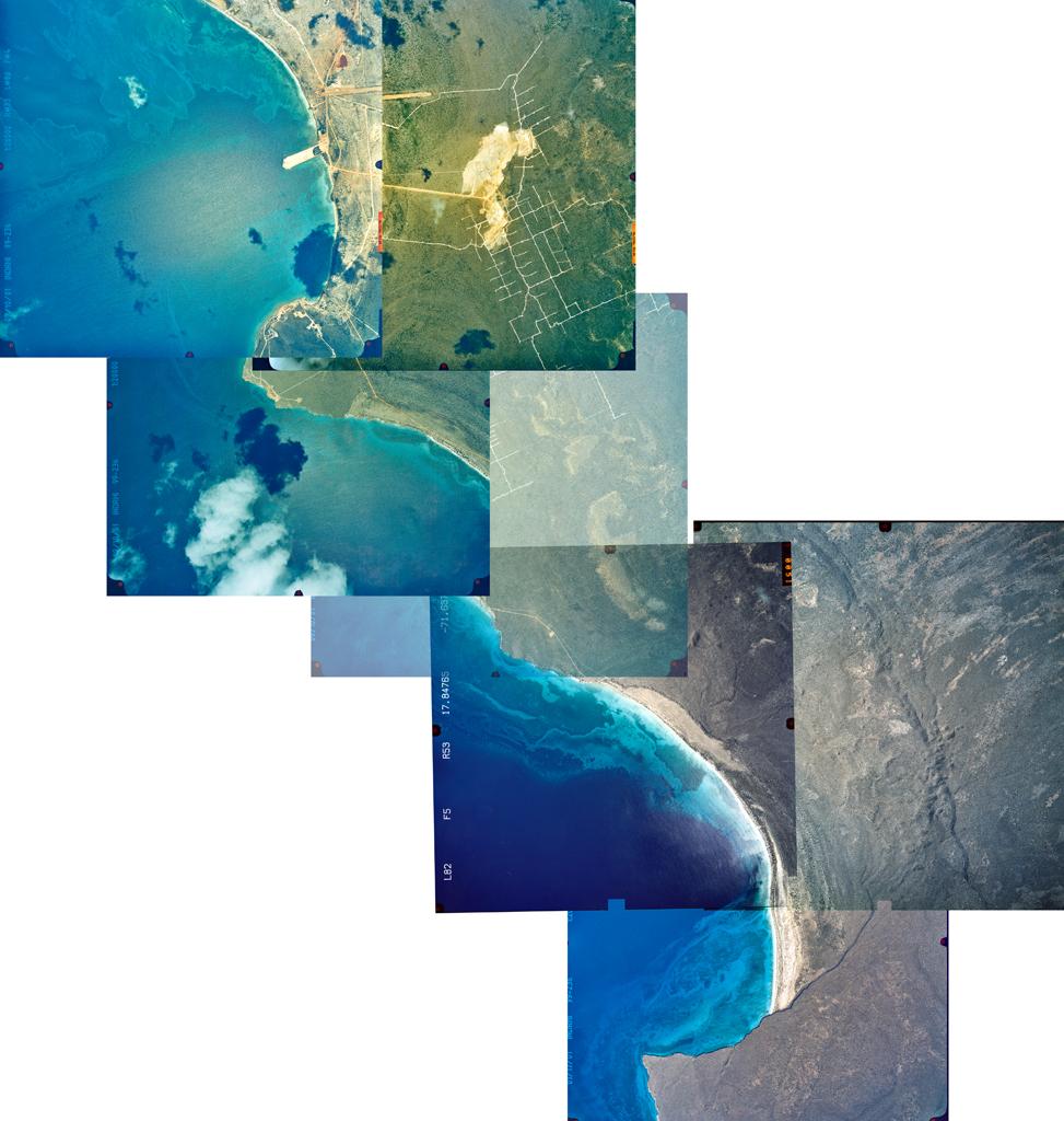 Aerial Photo, Bahía de Las Águilas + Cabo Rojo