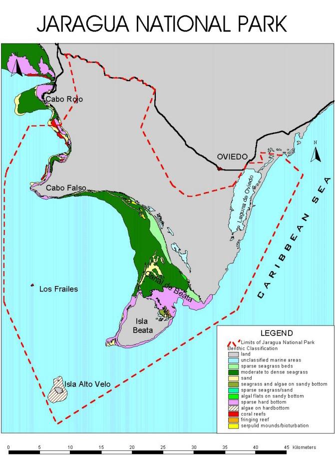 Parque Nacional Jaragua Limits