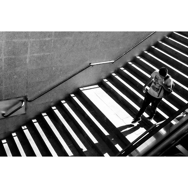 Stairs. . . . . #streetphotos #street_persons #bnw_life #streetphotographer #blacknwhite #blackandwhite #street_photo_club #lensculture #everybodystreet #ic_bw #bnw_magazine #streetphotographers #magnumphotos #bnw_captures #streetbw #bwoftheday #bw_photooftheday #photooftheday #bnw_life #bnw_lombardia #bnwsouls #everybodystreet #vsco #vscocam #bnw_society #streetlife_award #streetphotography_bw #streetphoto_bw #streetbw
