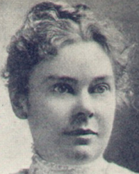"LIZZIE ANDREW BORDEN, 1860 – 1927. Born in Fall River, Mass, the daughter of Andrew Jackson and Sarah Anthony (Morse) Borden. Present at the Borden home at 92 Second Street the morning of the murders of her father and stepmother, Lizzie was considered a suspect in the crimes early on and was arrested on August 11, 1892. She was tried for those crimes but was acquitted on June 20, 1893. A mere 20 days after the trial, the Borden sisters purchased a house at 7 French Street in Fall River (later named Maplecroft). Early in June 1905, Emma left Fall River, never to return. Following her sister's departure, she began referring to herself as ""Miss Lizbeth A. Borden."" She was remembered by some who knew her in later life as a lady of great kindness and generosity, with a fondness for children and animals."