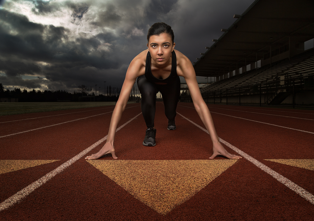 Sports Portrait-Track