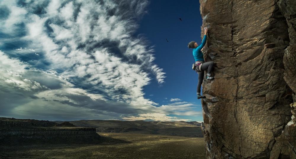 Rock climbing Vantage 1