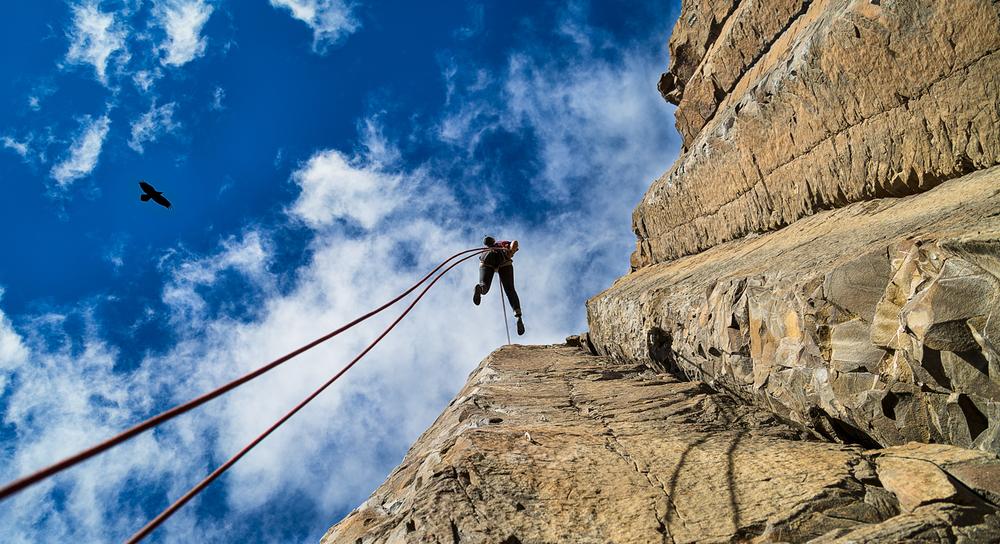 Rock climbing Vantage 2