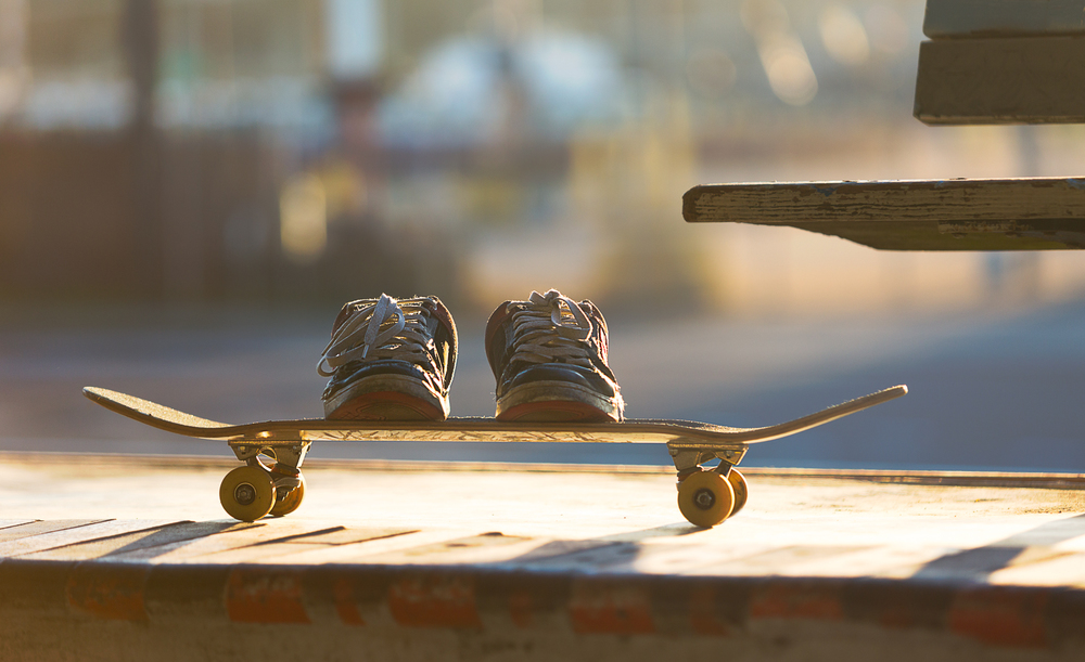 Location Product | Old Skateboard