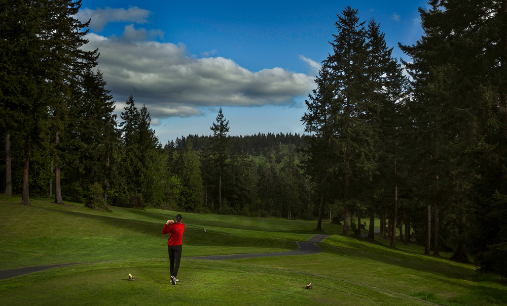 Golf Course Sports Photography