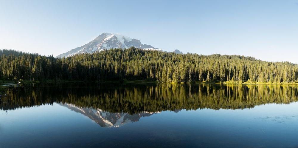 Reflection Lake Landscape