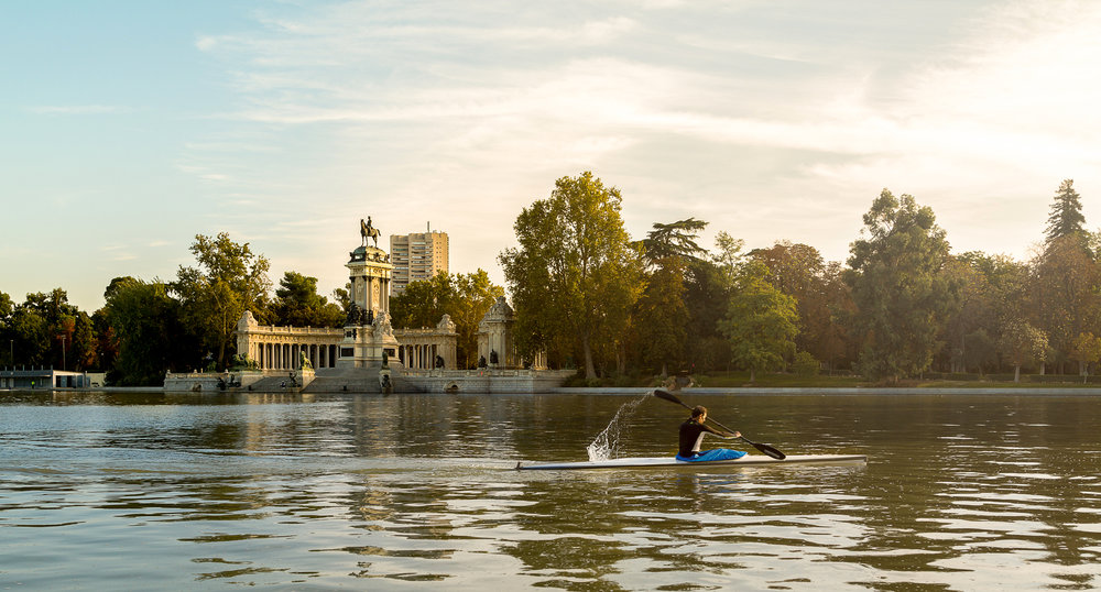 Kayak in Madrid