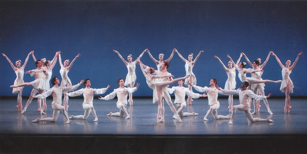 "Darius (right) in ""Chaconne"" with Wendy Whelan and Phillip Neal"