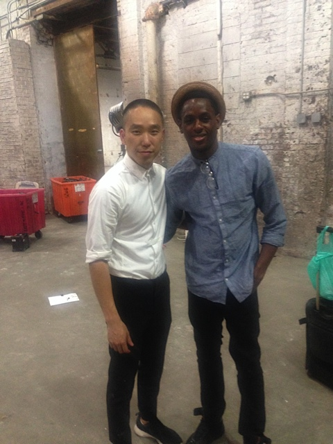 Darius and director, Paul Jung