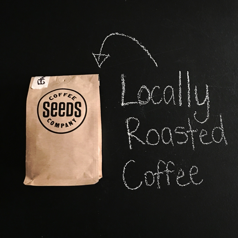 Coffee from Seeds. Locally roasted right here in Birmingham, AL!