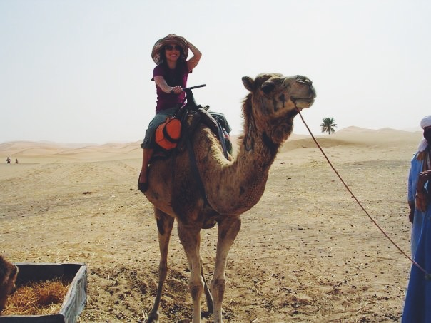 Chillin in the Sahara Desert with my camel, Jimi Hendrix